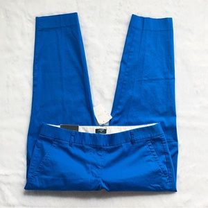 New With Tags J. Crew Blue City Fit Pants